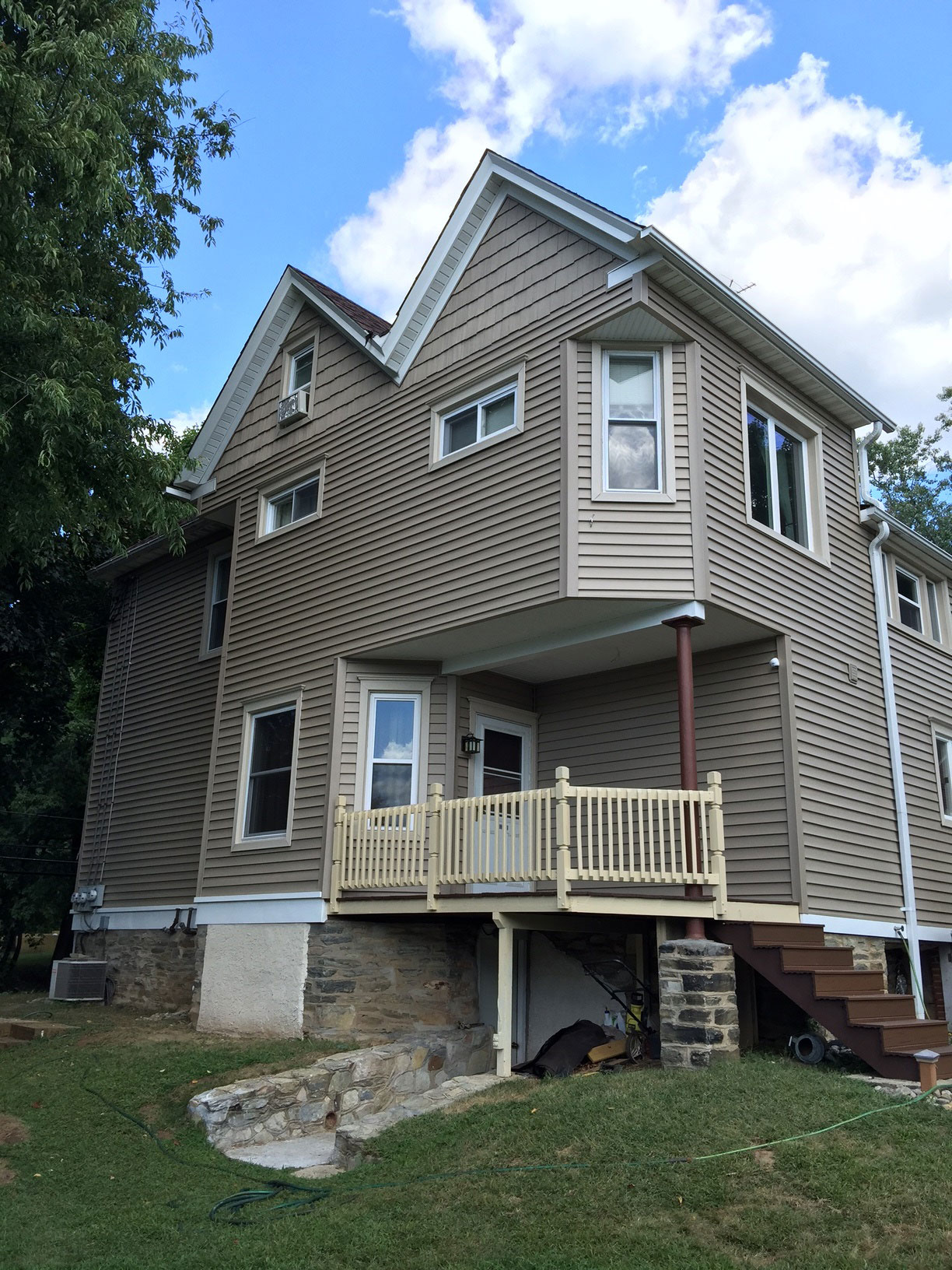 Home with New Siding - Siding Contractors In Berlin, NJ